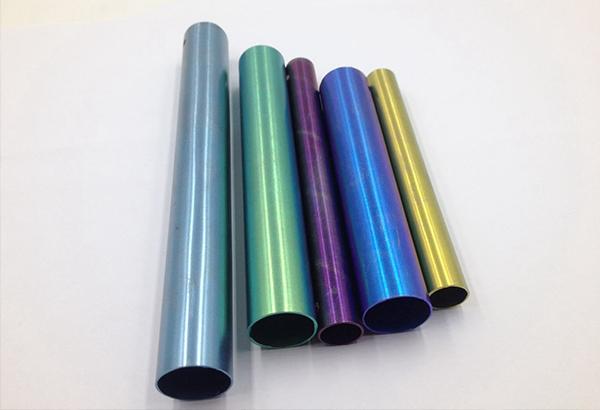 彩色钛合金管