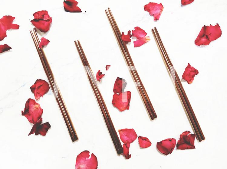 金福纯钛健康筷