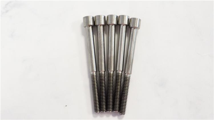 金福钛业 非标定制 内六角圆柱头半牙螺栓
