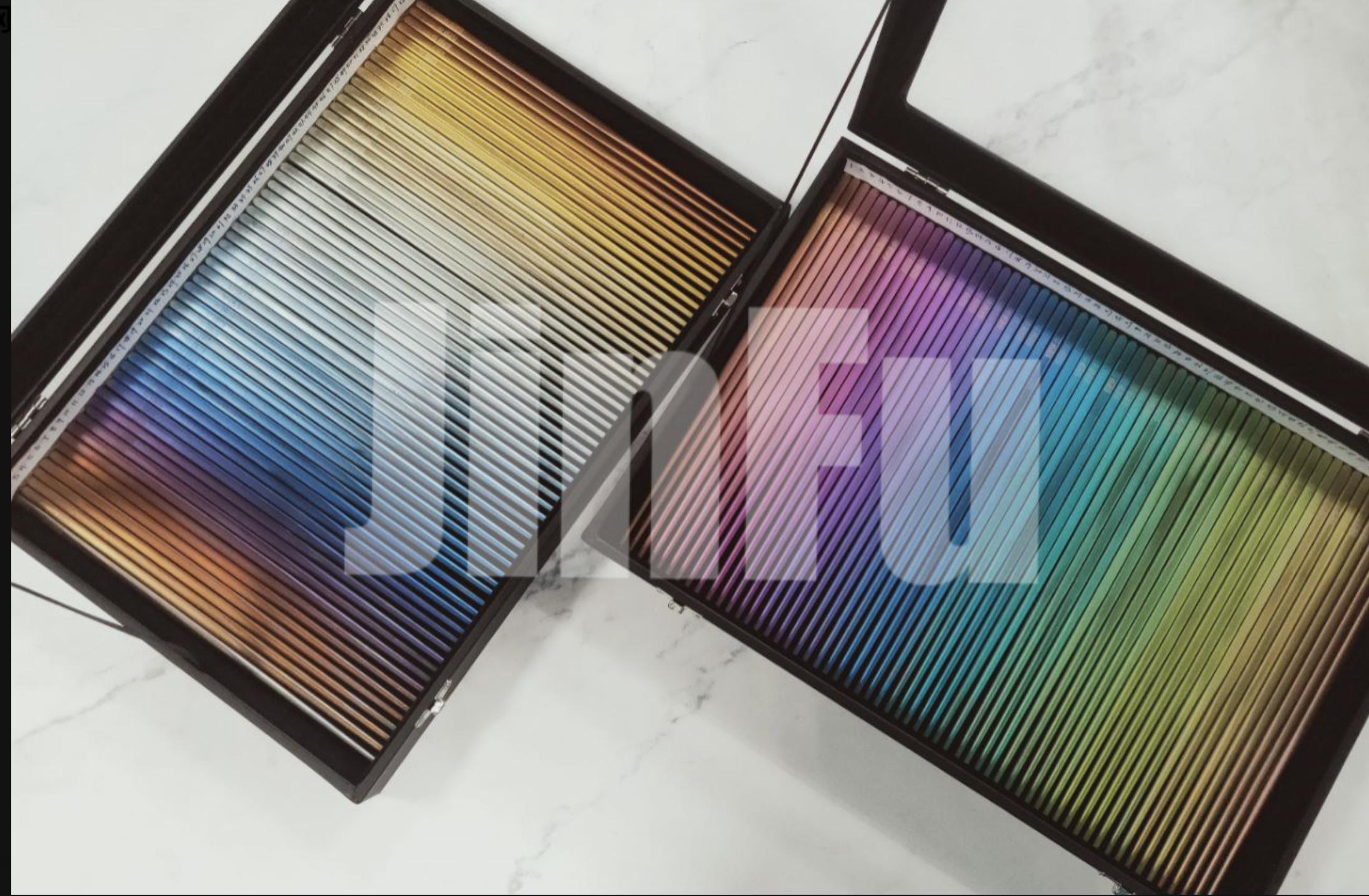 金福钛业阳极氧化炫彩色板